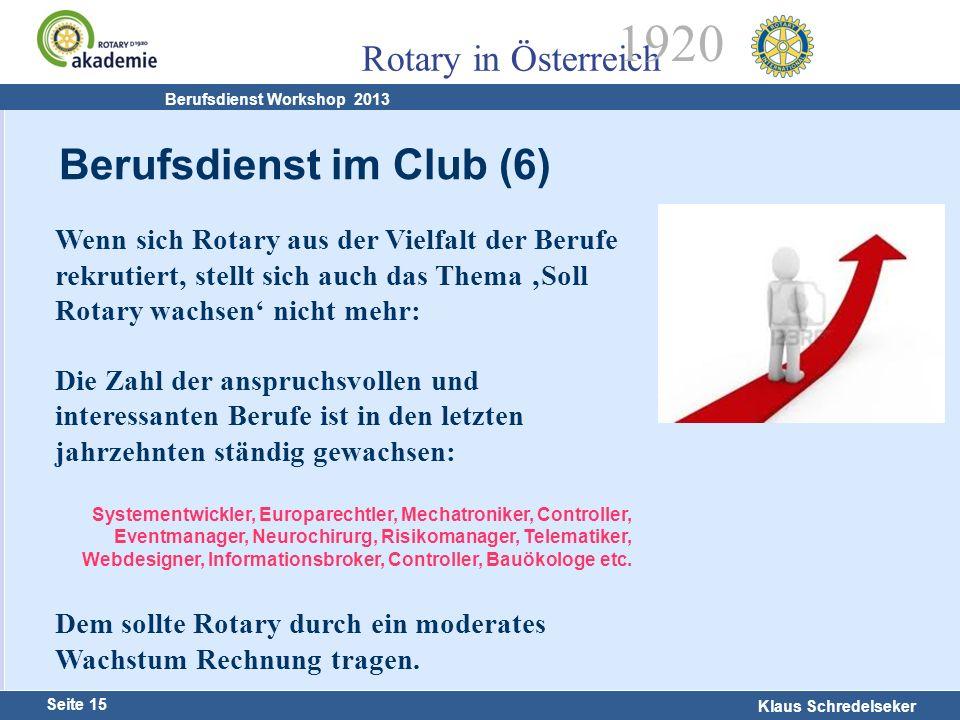 Berufsdienst im Club (6)
