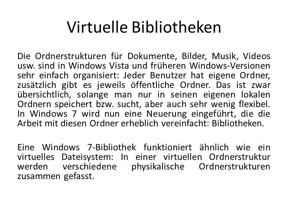 Virtuelle Bibliotheken