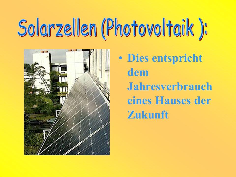 Solarzellen (Photovoltaik ):