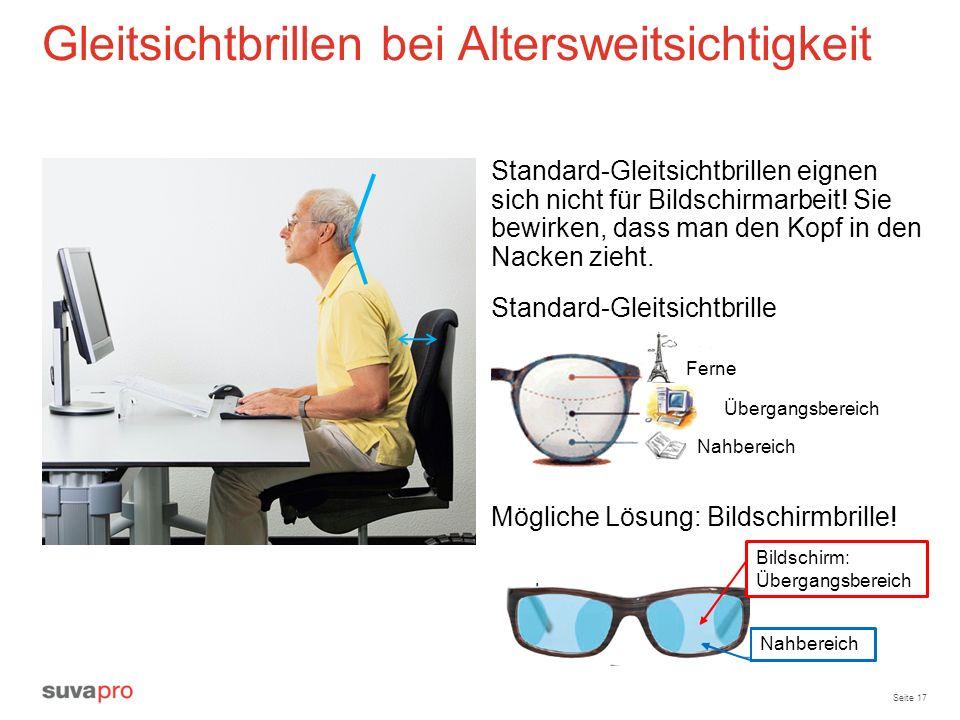 Gleitsichtbrillen bei Altersweitsichtigkeit