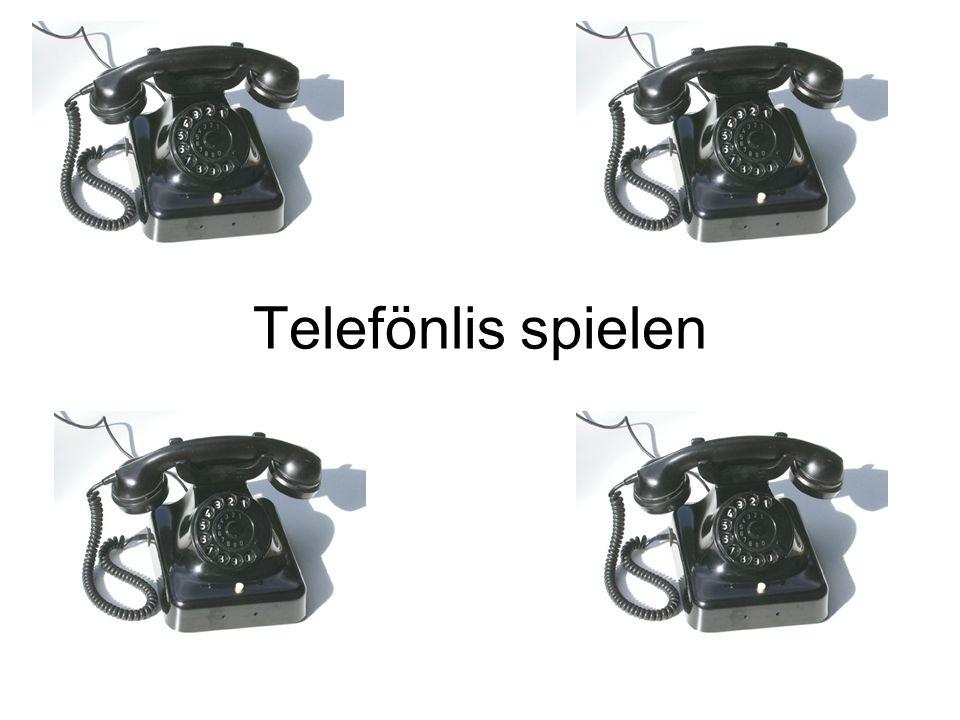 Telefönlis spielen Bild aus: http://commons.wikimedia.org/wiki/Image:Telefon04_1.jpg