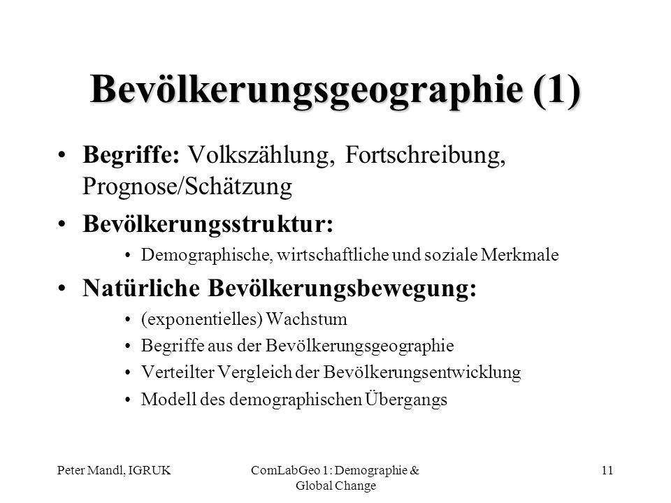 Bevölkerungsgeographie (1)