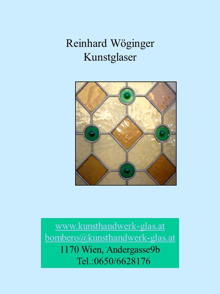 bombero@kunsthandwerk-glas.at 1170 Wien, Andergasse9b