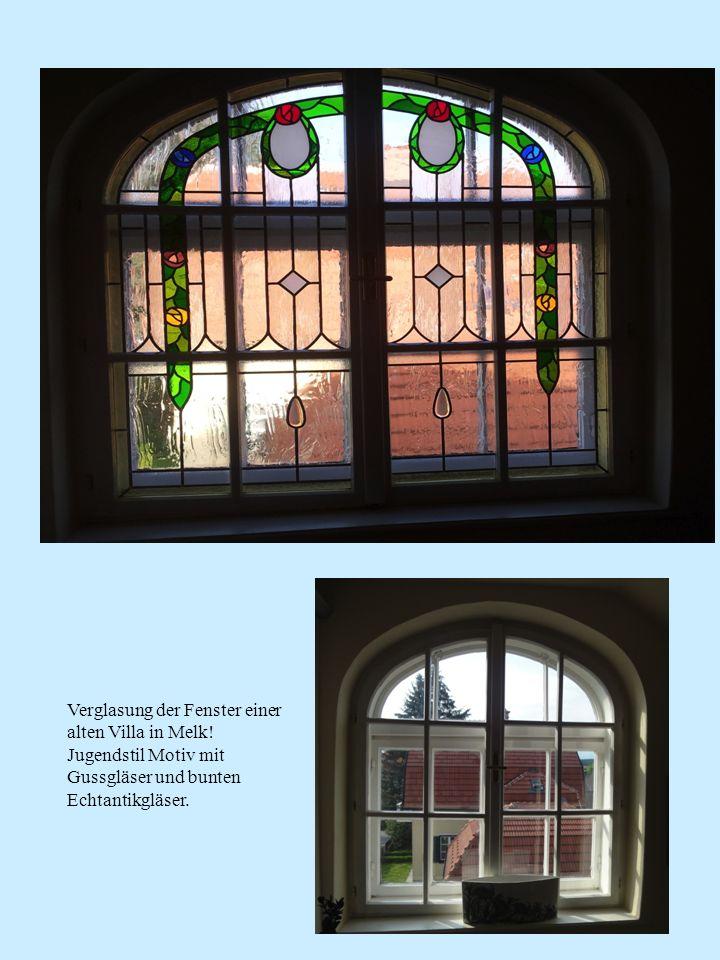 Verglasung der Fenster einer alten Villa in Melk!