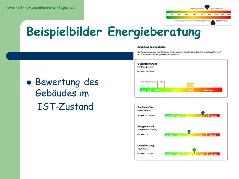 Beispielbilder Energieberatung
