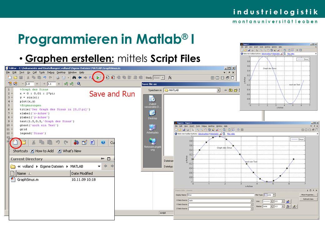 Programmieren in Matlab® I