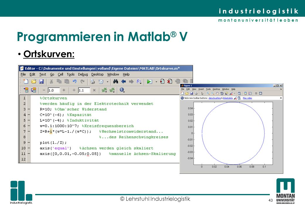 Programmieren in Matlab® V