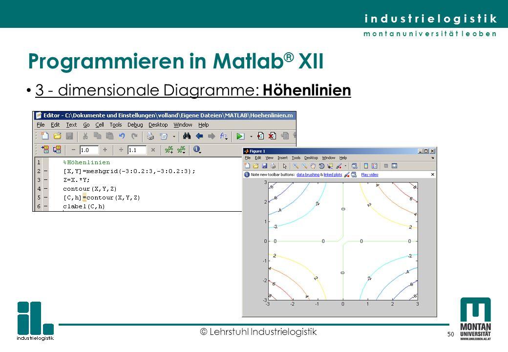Programmieren in Matlab® XII