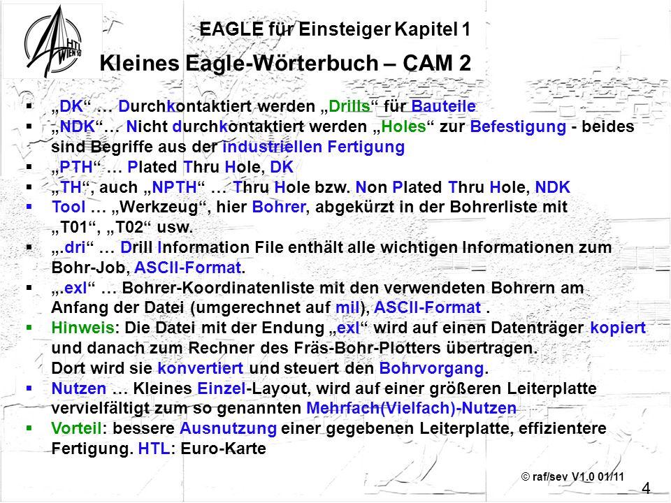 EAGLE für Einsteiger Kapitel 1