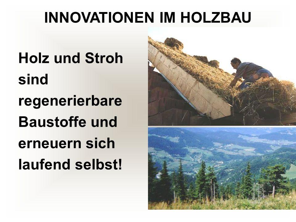 INNOVATIONEN IM HOLZBAU
