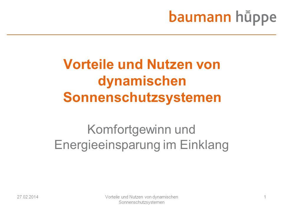 Vorteile und Nutzen von dynamischen Sonnenschutzsystemen