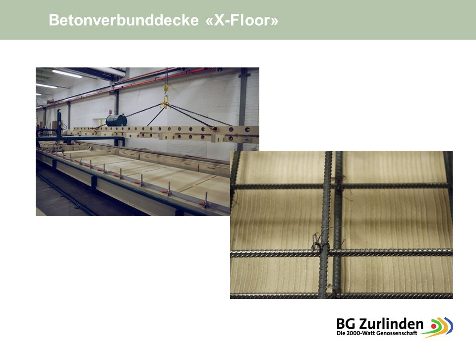 Betonverbunddecke «X-Floor»