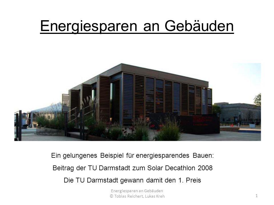 Energiesparen an Gebäuden