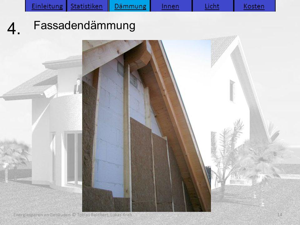 4. Fassadendämmung Einleitung Statistiken Dämmung Innen Licht Kosten
