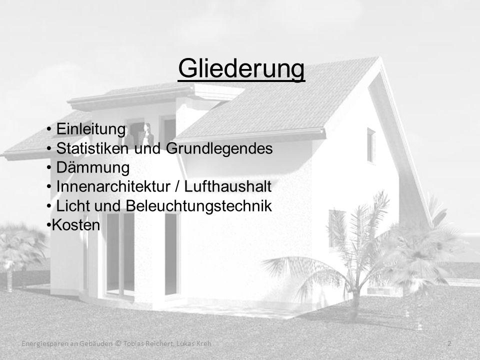 Energiesparen an Gebäuden © Tobias Reichert, Lukas Kreh