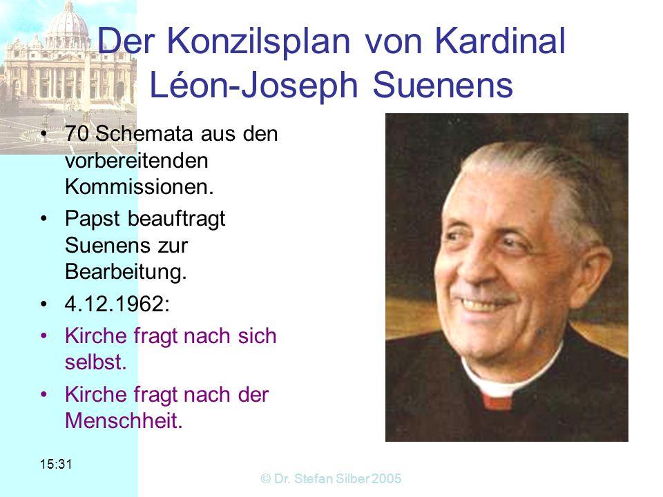 Der Konzilsplan von Kardinal Léon-Joseph Suenens