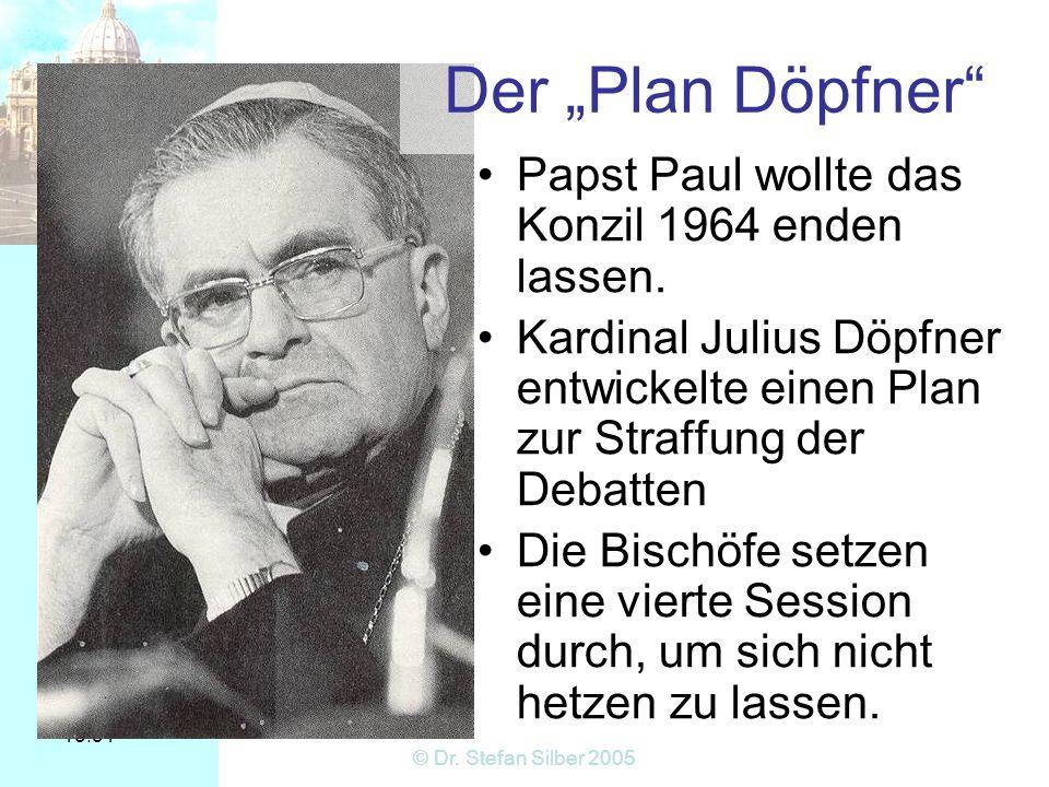 """Der """"Plan Döpfner Papst Paul wollte das Konzil 1964 enden lassen."""