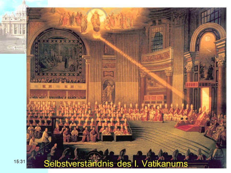 Selbstverständnis des I. Vatikanums