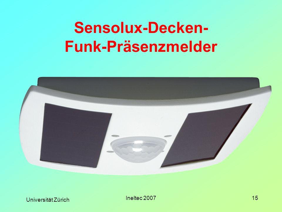 Sensolux-Decken- Funk-Präsenzmelder