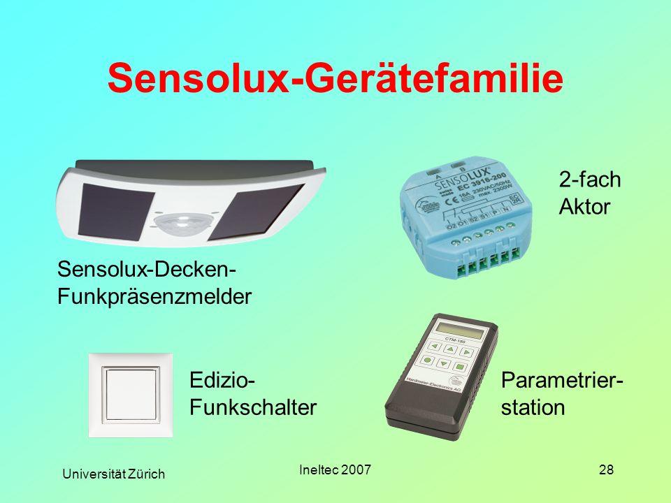 Sensolux-Gerätefamilie