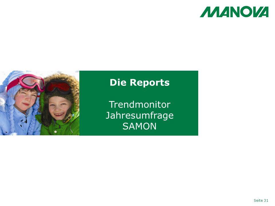 Die Reports Trendmonitor Jahresumfrage SAMON