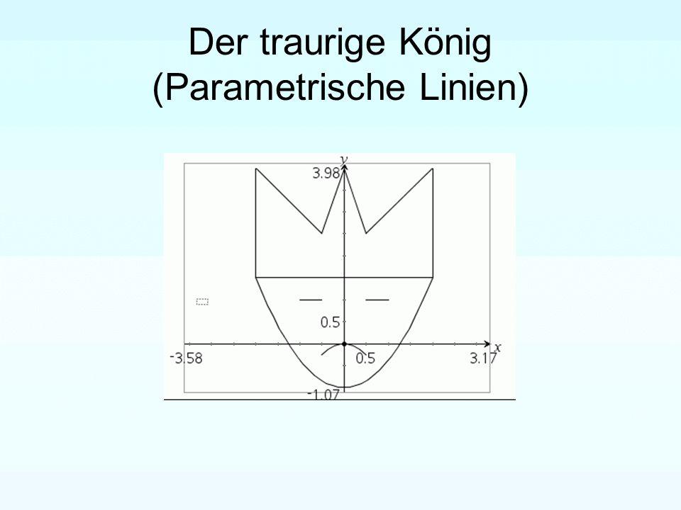 Der traurige König (Parametrische Linien)