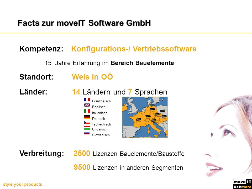 Facts zur moveIT Software GmbH