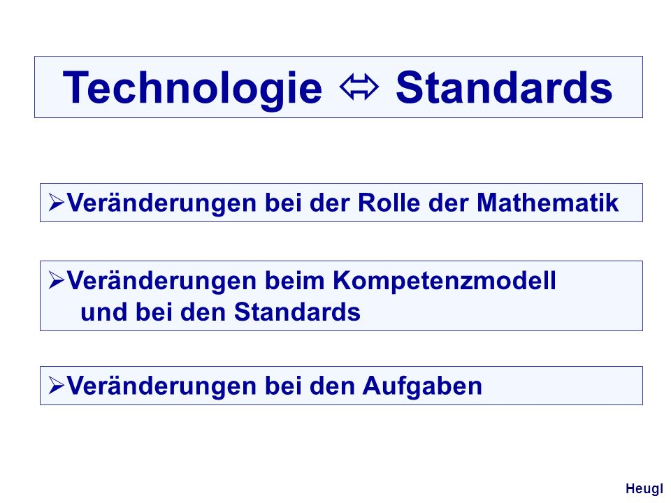 Technologie  Standards