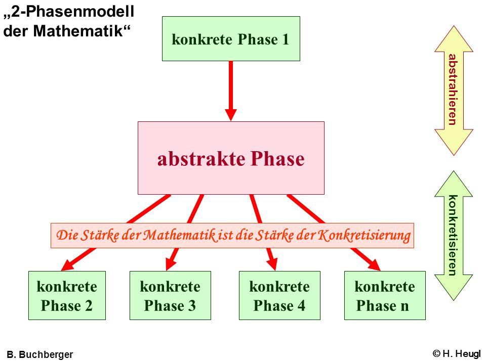"""abstrakte Phase """"2-Phasenmodell der Mathematik konkrete Phase 1"""
