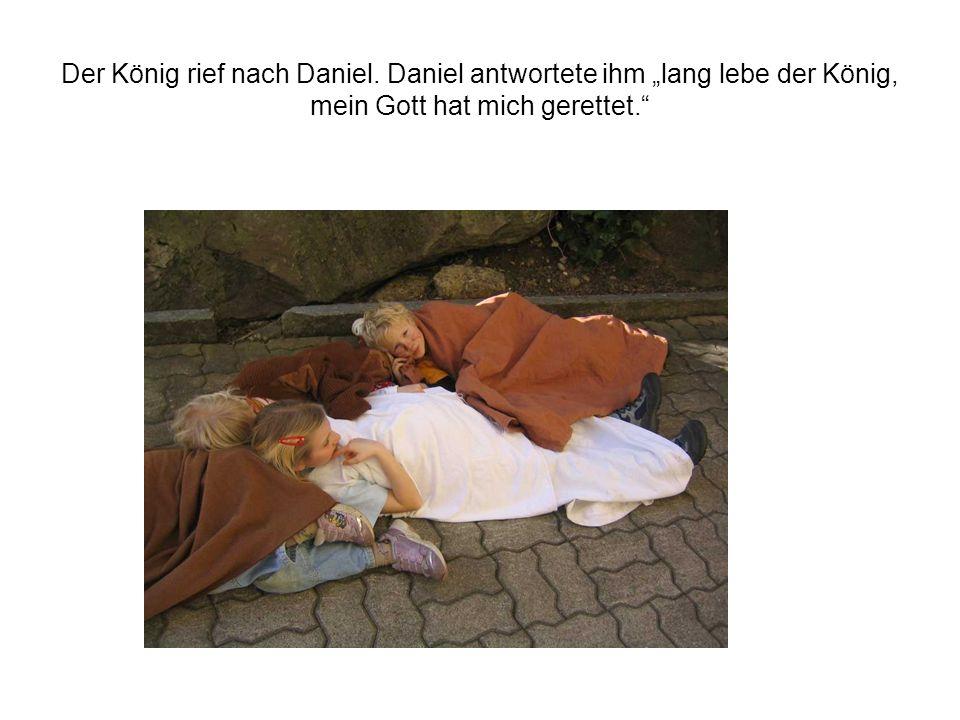 Der König rief nach Daniel
