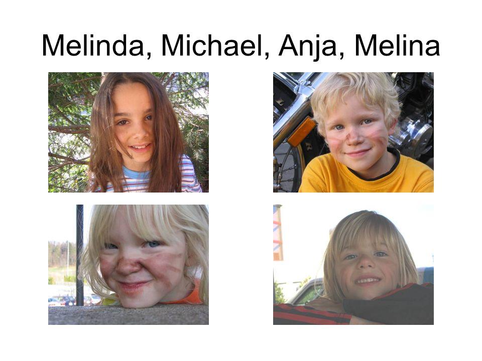 Melinda, Michael, Anja, Melina