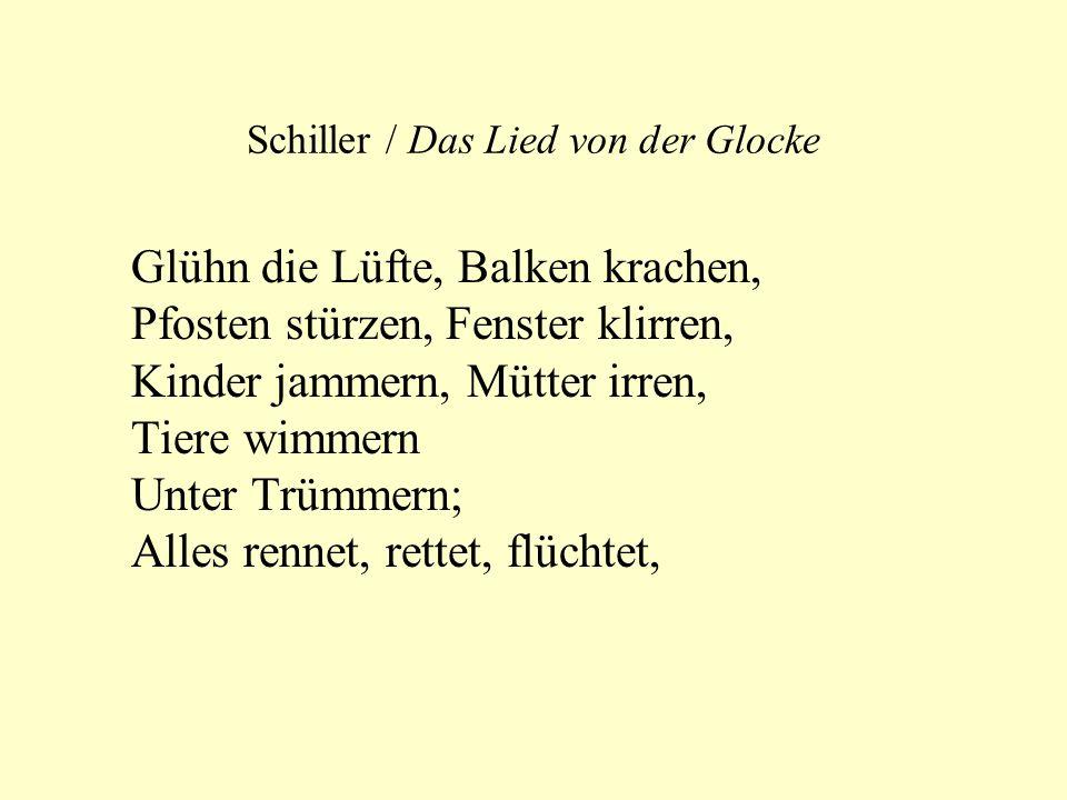 Schiller / Das Lied von der Glocke