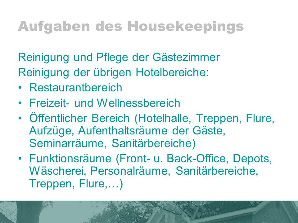 Ungewöhnlich Housekeeping Aufgaben Verantwortlichkeiten Fortsetzen ...