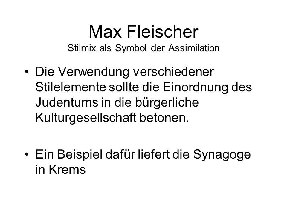 Max Fleischer Stilmix als Symbol der Assimilation