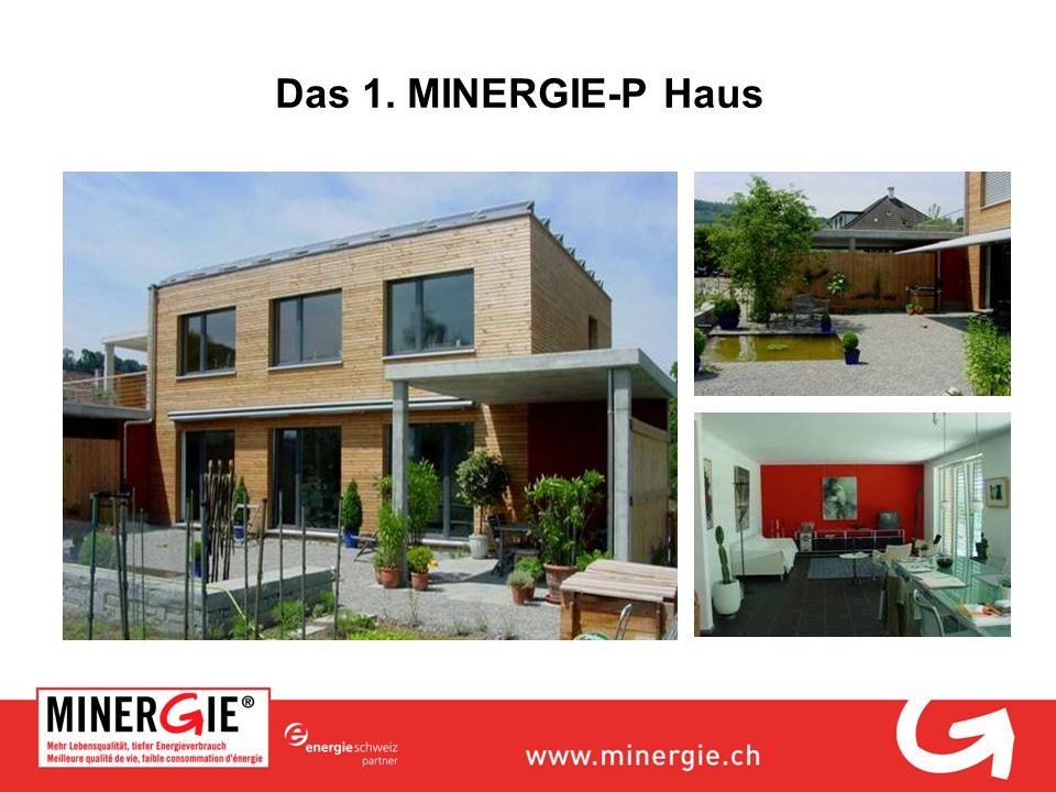 Das 1. MINERGIE-P Haus