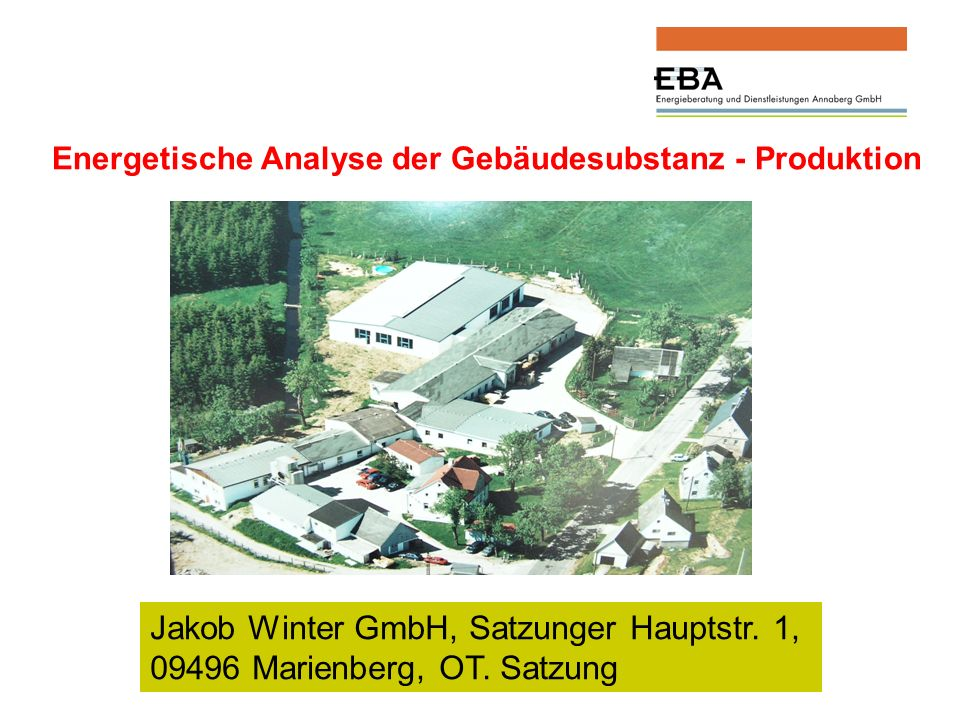 Jakob Winter GmbH, Satzunger Hauptstr. 1,