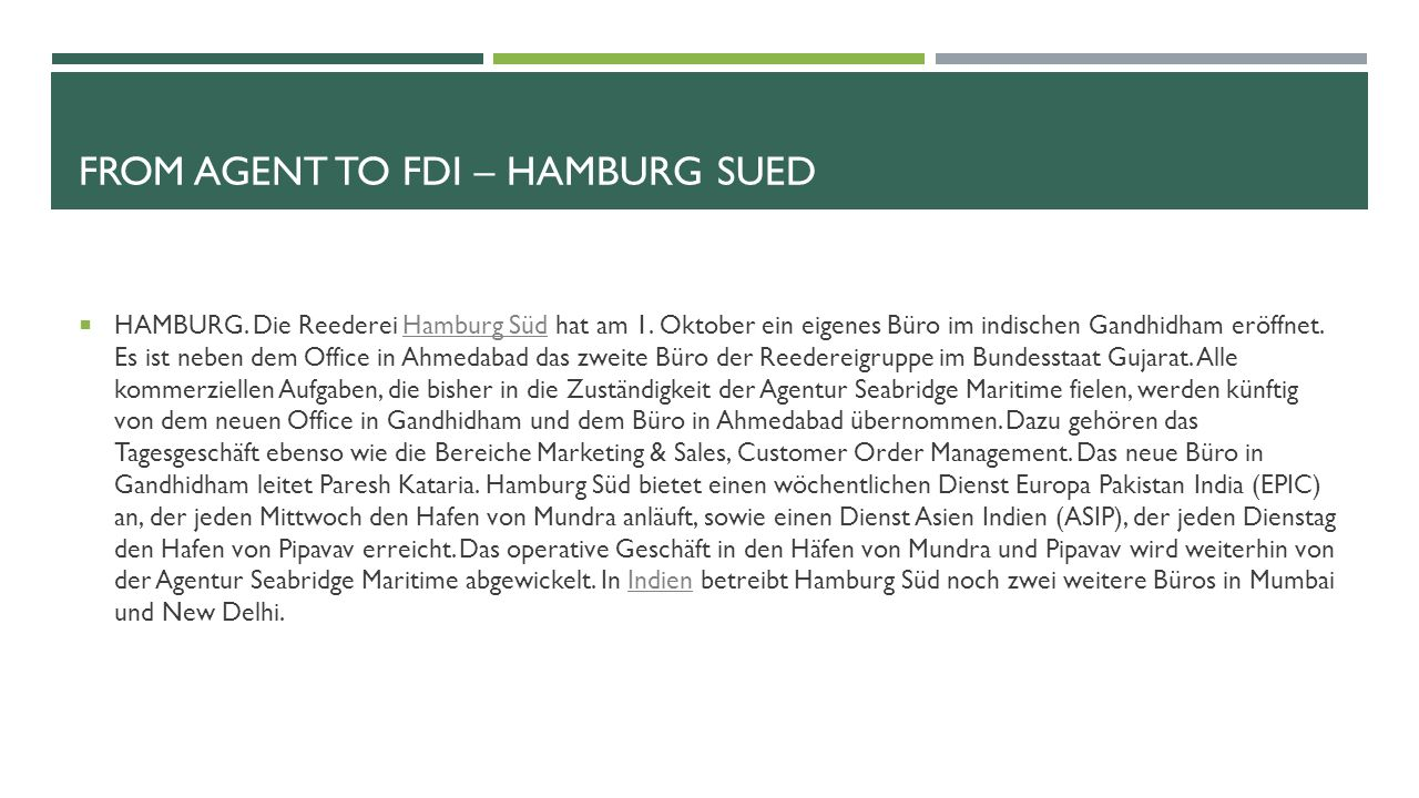 From agent to fdi – hamburg sued