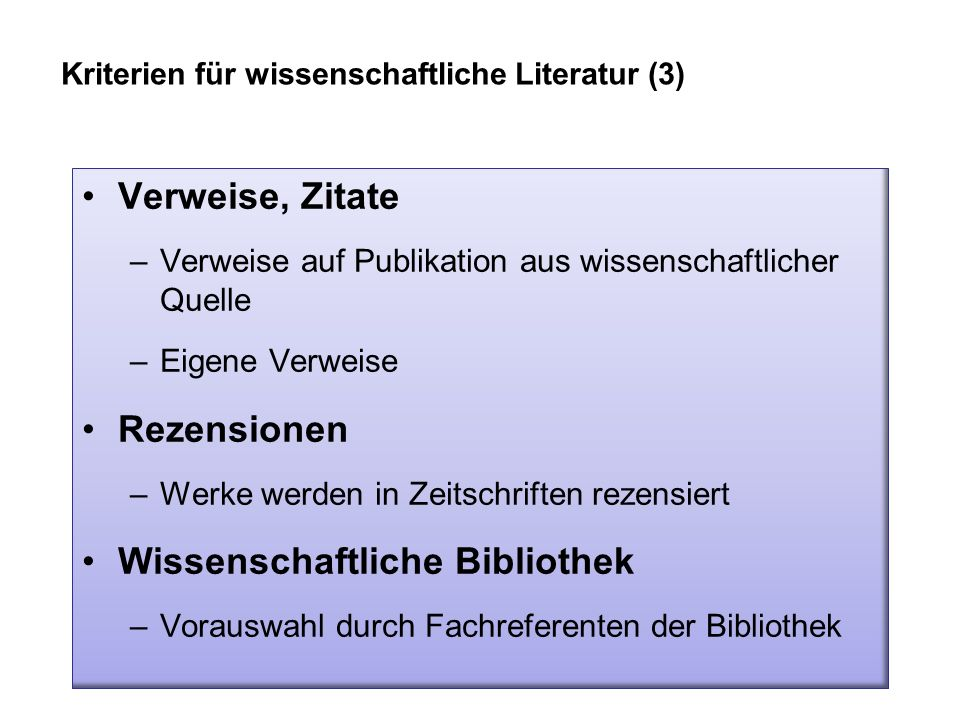 Wissenschaftliche Bibliothek