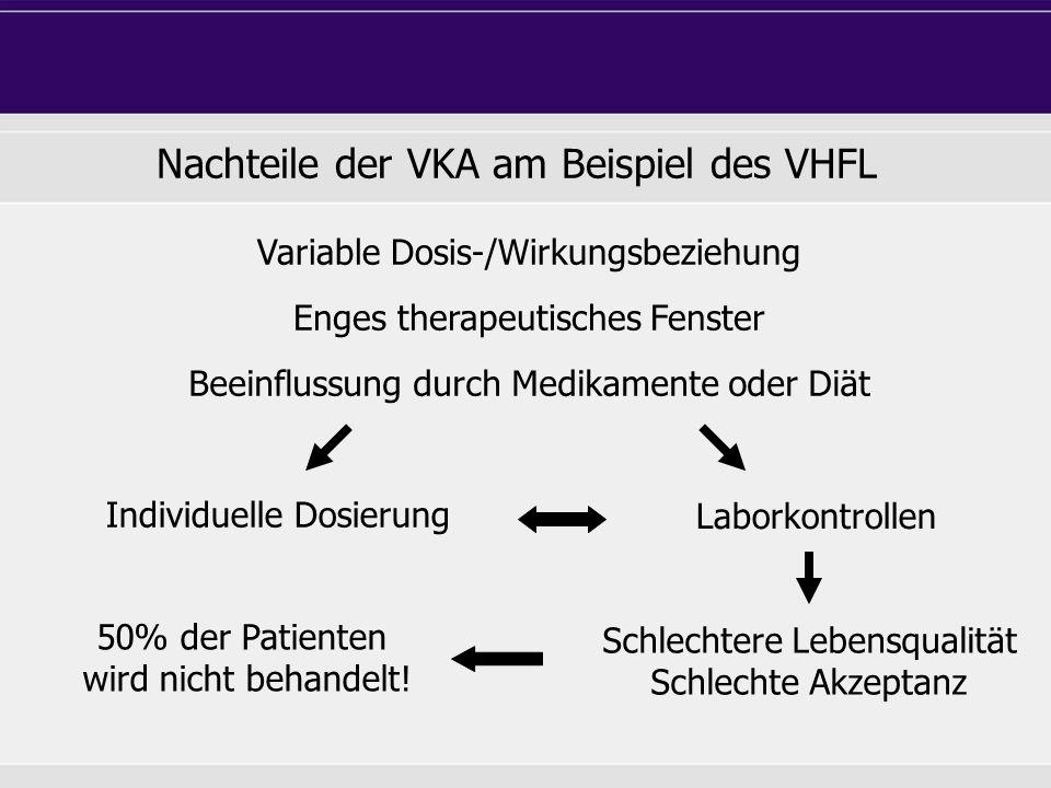 Nachteile der VKA am Beispiel des VHFL