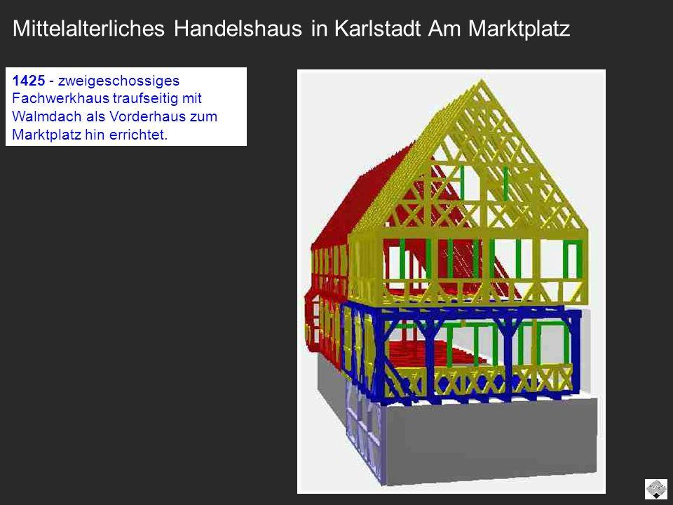 Mittelalterliches Handelshaus in Karlstadt Am Marktplatz