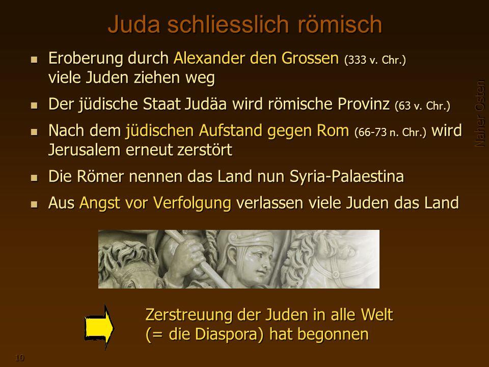 Juda schliesslich römisch