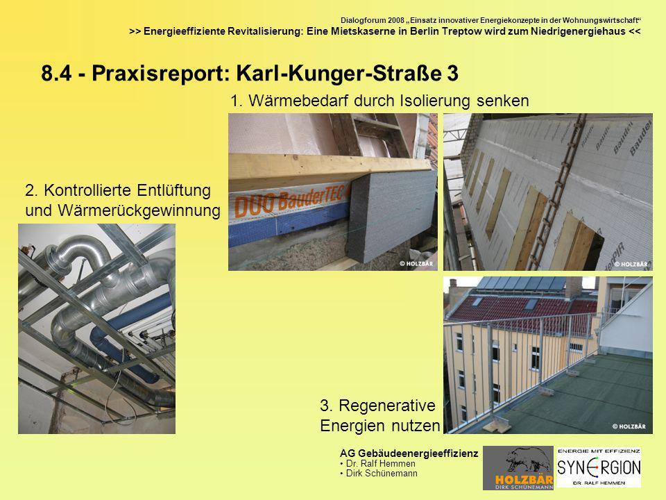 8.4 - Praxisreport: Karl-Kunger-Straße 3