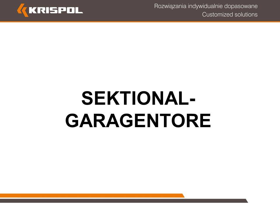 SEKTIONAL- GARAGENTORE
