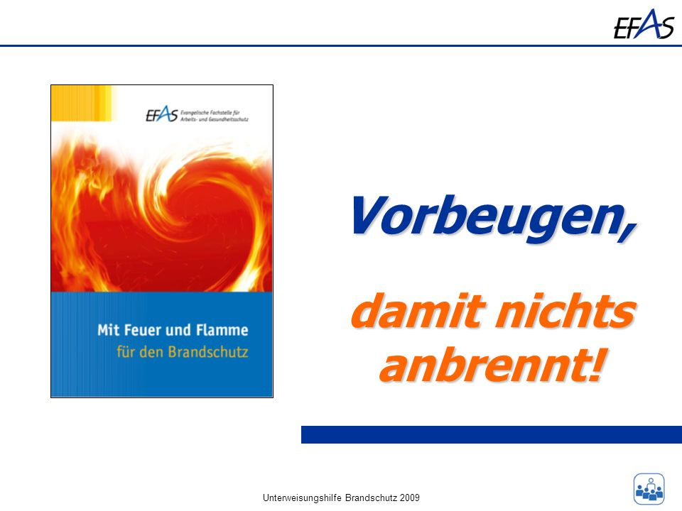 Unterweisungshilfe Brandschutz 2009
