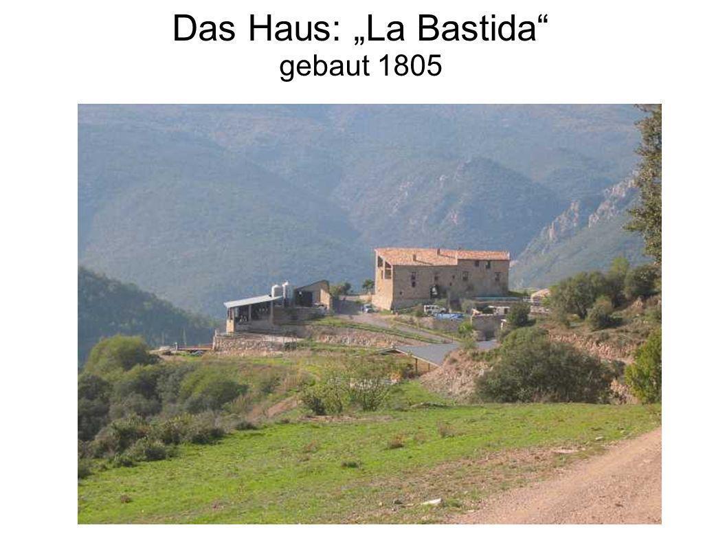 """Das Haus: """"La Bastida gebaut 1805"""