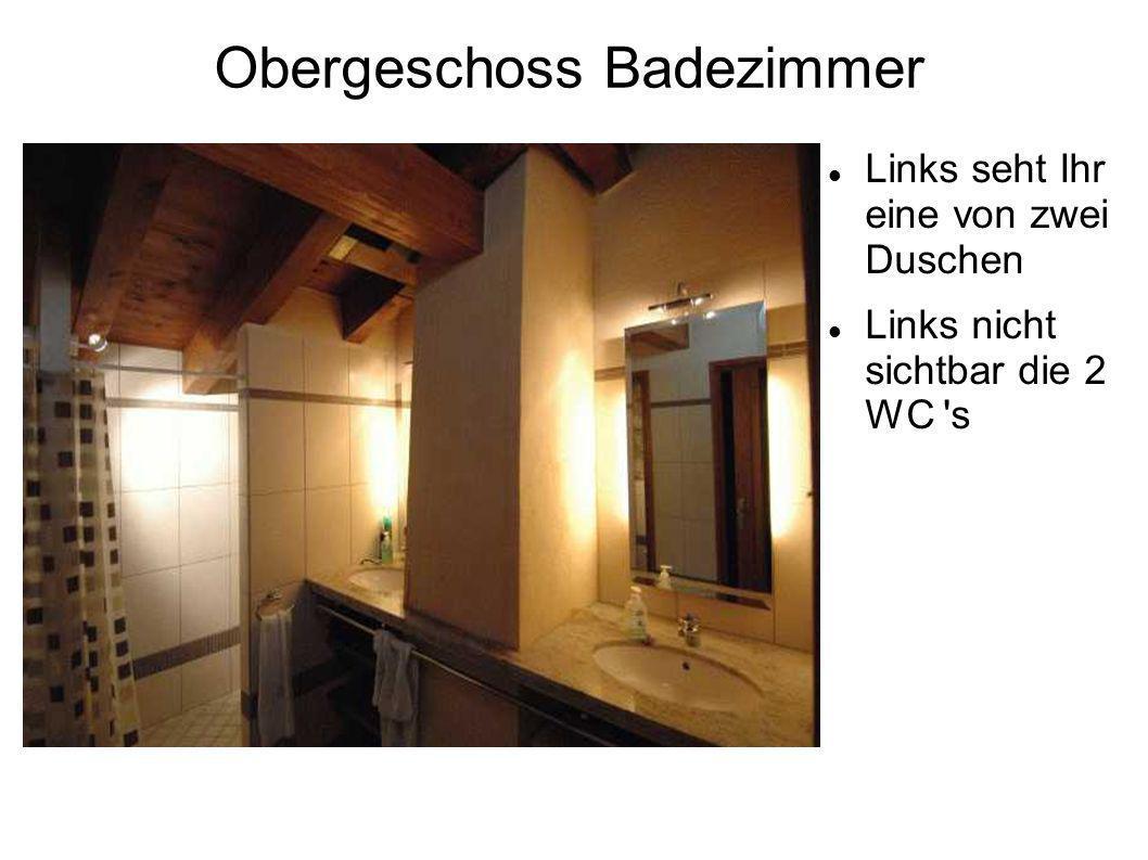 Obergeschoss Badezimmer