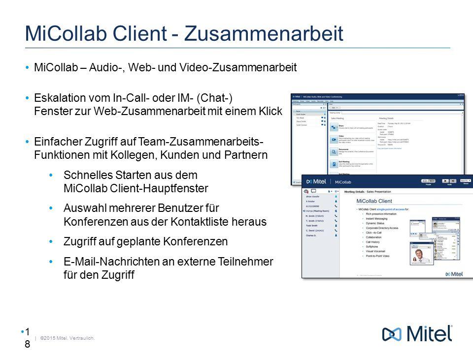 MiCollab Client - Zusammenarbeit