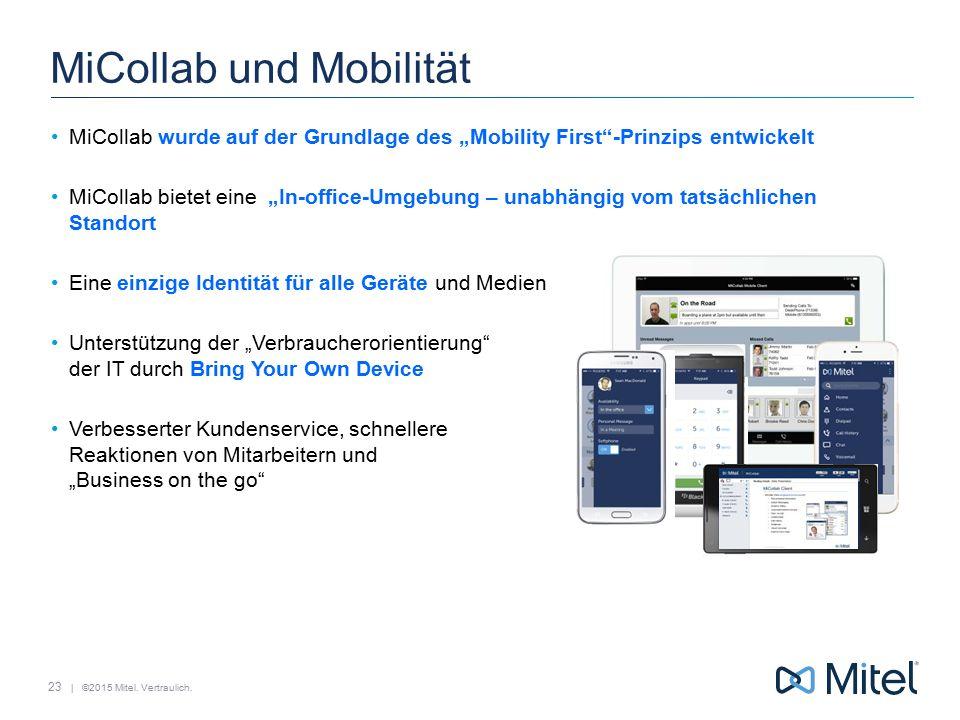 MiCollab und Mobilität