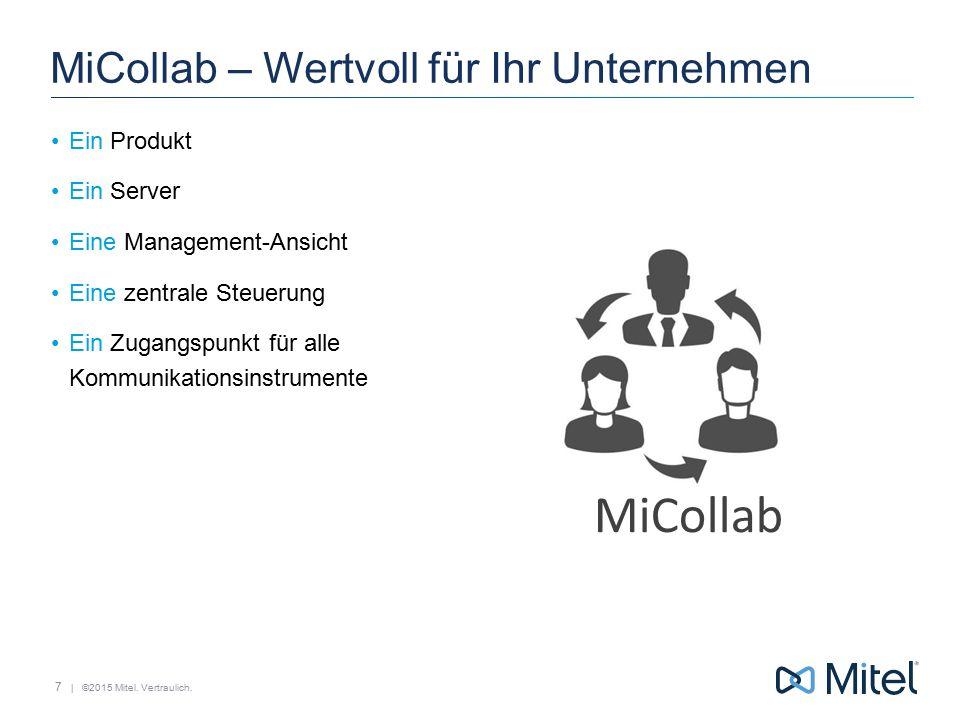 MiCollab – Wertvoll für Ihr Unternehmen
