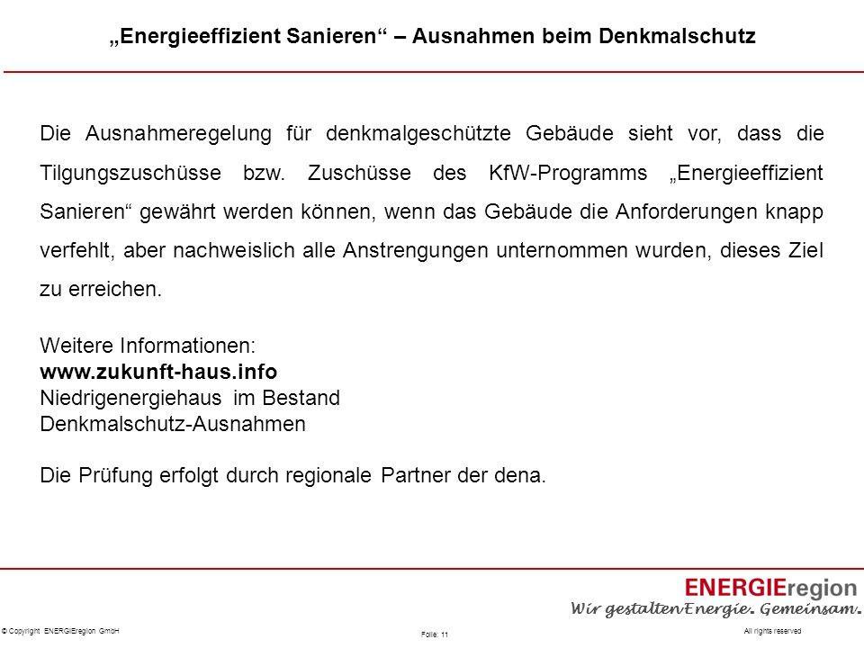 """""""Energieeffizient Sanieren – Ausnahmen beim Denkmalschutz"""